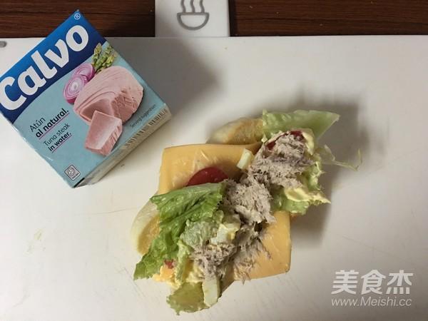 美式金枪鱼三明治怎么炒