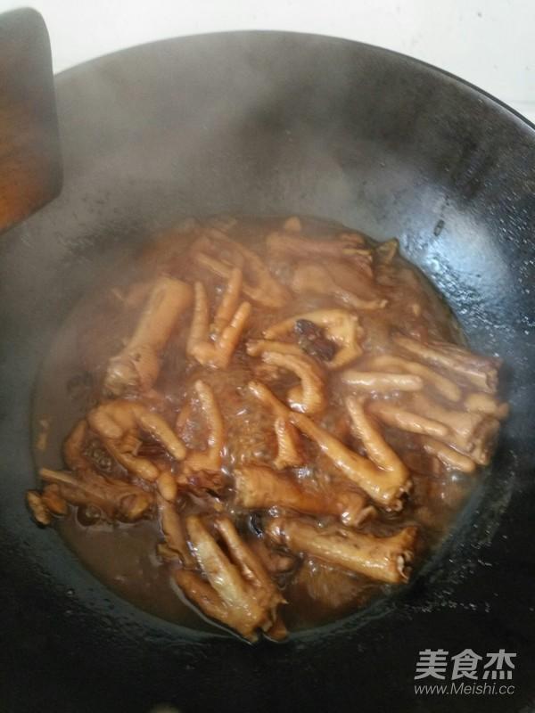 红烧鸡爪怎么煮