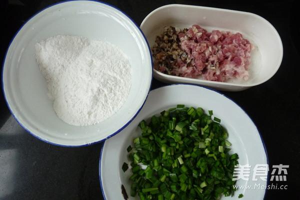 韭菜鲜肉薄撑的做法大全