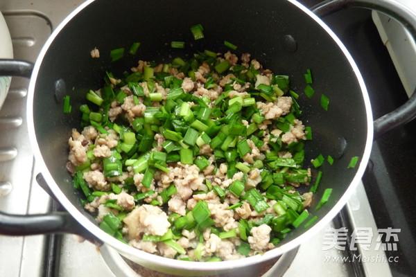 韭菜鲜肉薄撑怎么吃