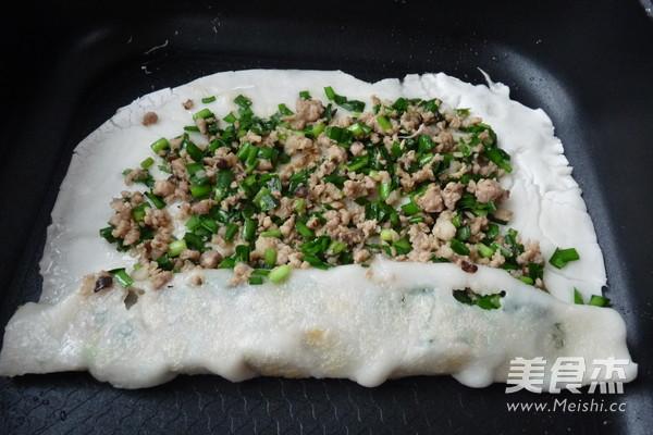 韭菜鲜肉薄撑怎么炖