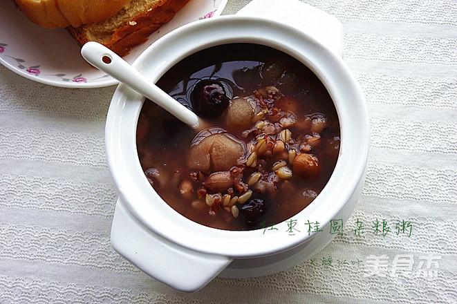 红枣桂圆杂粮粥怎么吃