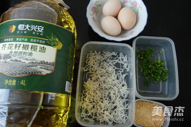 白饭鱼奶酪煎蛋的做法大全