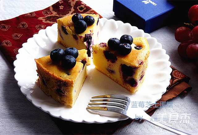 蓝莓芝士蛋糕怎样炒