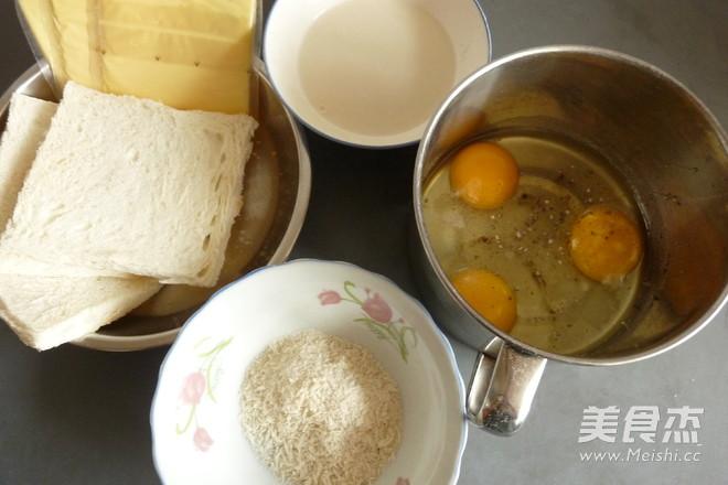 鸡蛋芝士吐司饺的做法大全