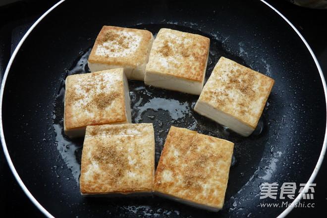 孜然豆腐的家常做法