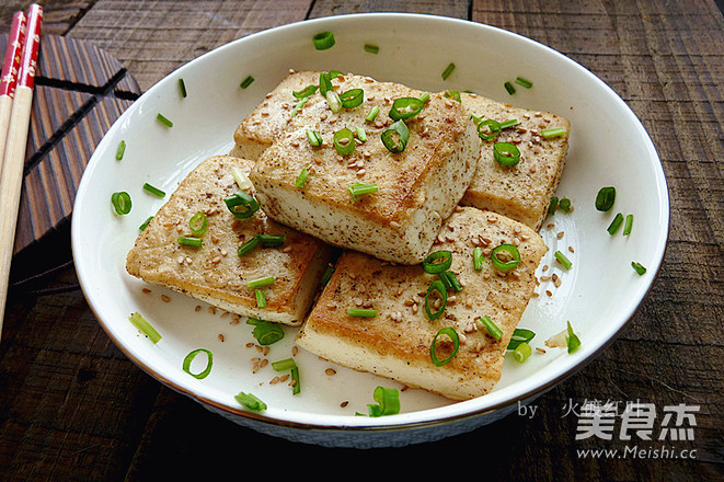 孜然豆腐怎么吃