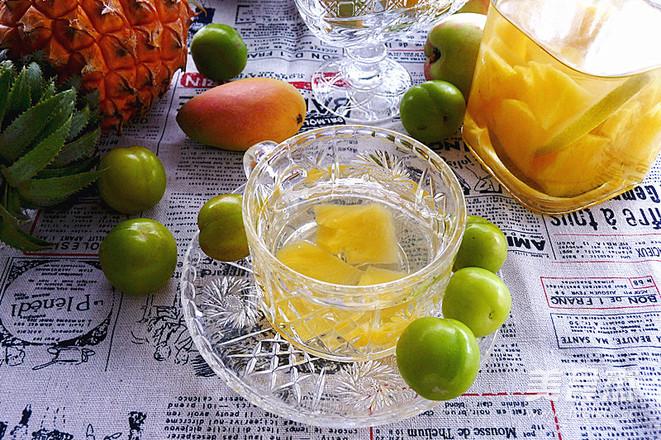 冰糖微波炉_菠萝泡酒的做法_菠萝泡酒怎么做_美食杰