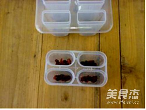 蔓越莓棉花糖冰棍怎么做