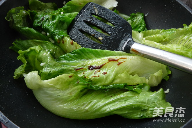 蒜香蚝油生菜怎么吃