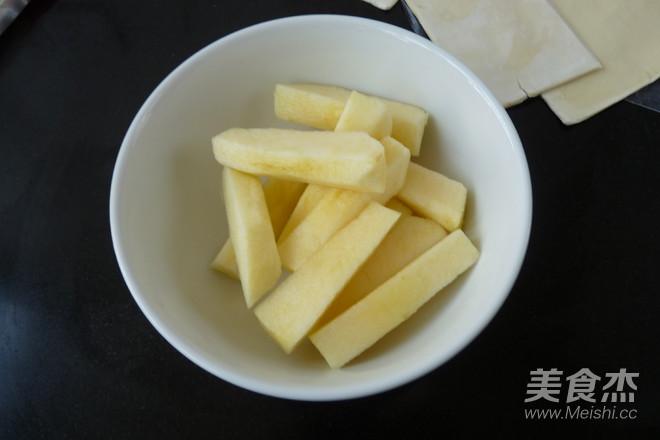 苹果梅子小酥卷的做法图解