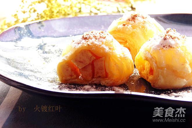 苹果梅子小酥卷怎么炒