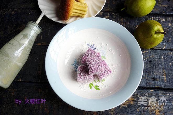 紫薯酸奶小方成品图