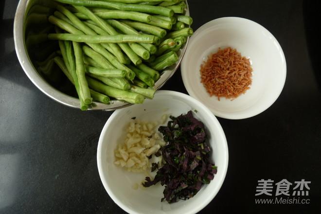 紫苏虾米炒豆角的做法大全