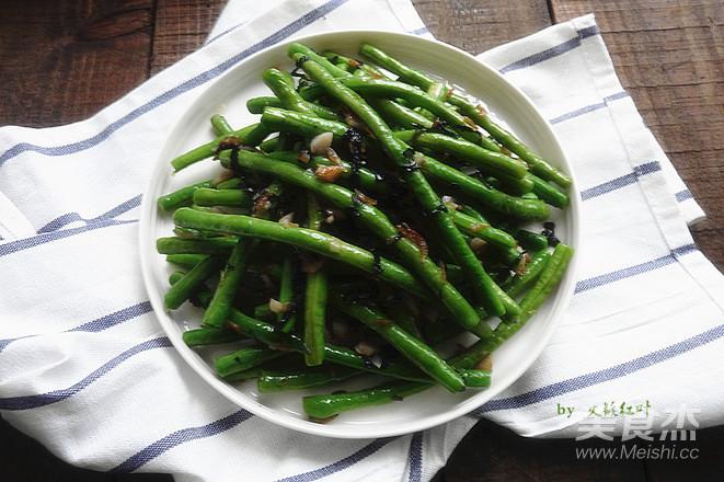 紫苏虾米炒豆角怎么煮