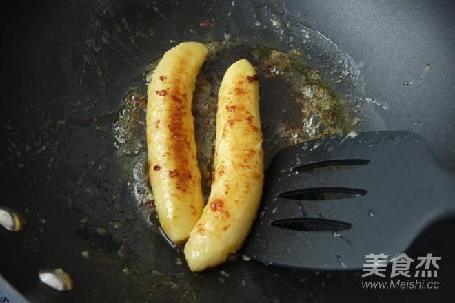 酱油香蕉佐雪糕怎么吃