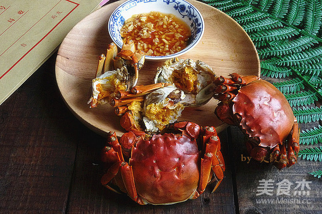 姜葱酒蒸螃蟹怎么炒