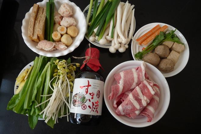 寿喜日式火锅的做法大全