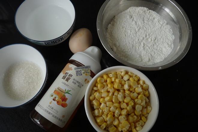 蜂蜜玉米鸡蛋饼的做法大全