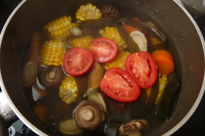玉米牛蒡香菇汤怎么煮