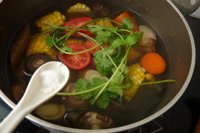 玉米牛蒡香菇汤怎么炖
