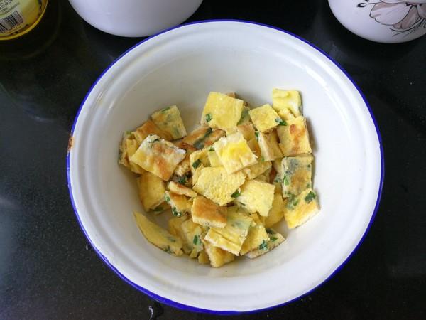 子姜蛋炒杂粮饭的步骤