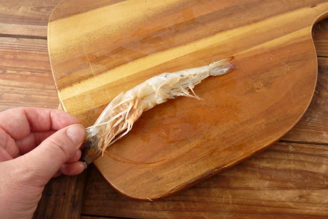 黄油煎大虾的做法图解