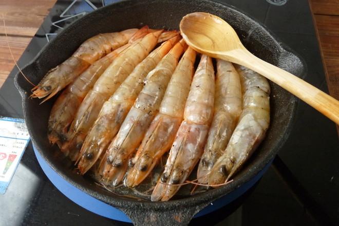 黄油煎大虾怎么做