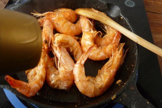 黄油煎大虾怎么炒