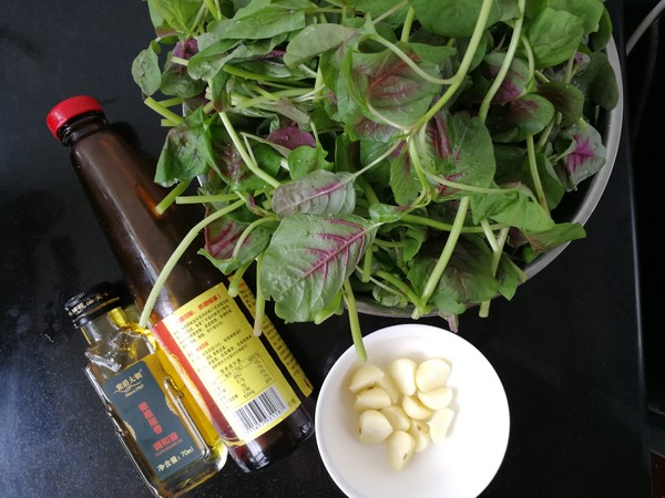 蒜油香拌苋菜的做法大全