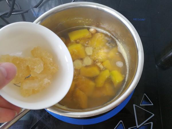 南瓜莲子桂花糖水怎么吃