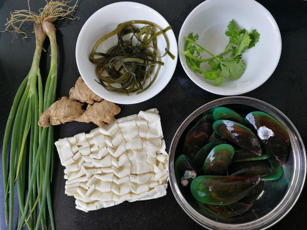 青口海带汤面的做法大全
