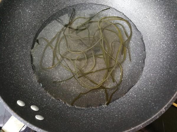 青口海带汤面怎么吃