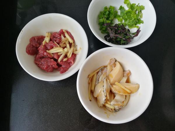 鲜鲍鱼牛肉饭的简单做法