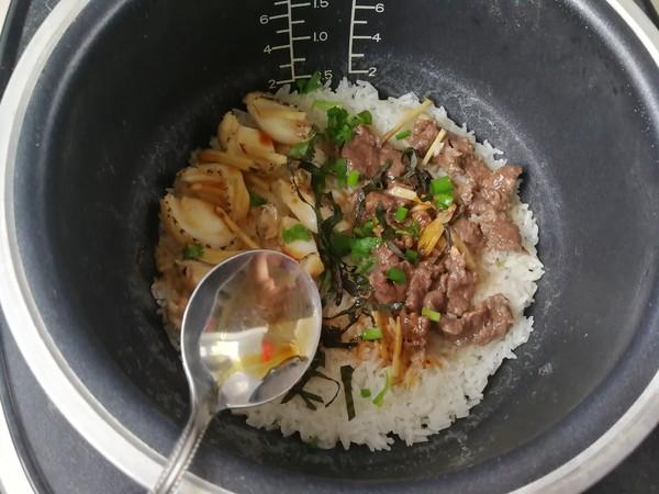 鲜鲍鱼牛肉饭怎么做