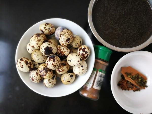 五香鹌鹑蛋的做法大全