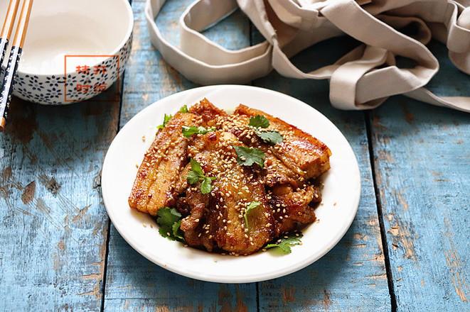 咖喱煎五花肉成品图
