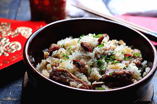 【年年高升】高升排骨糯米饭怎么炒