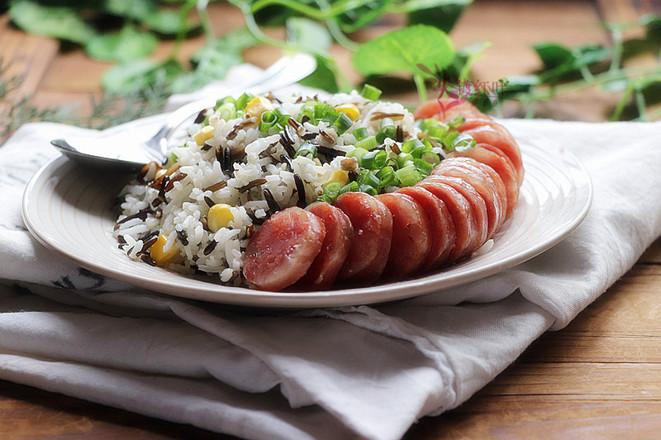 腊肠野米杂粮饭怎么吃