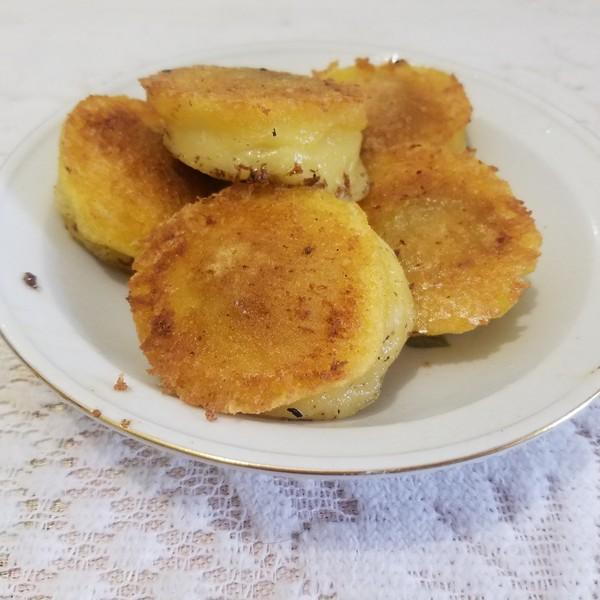 香煎东北粘豆包怎么做