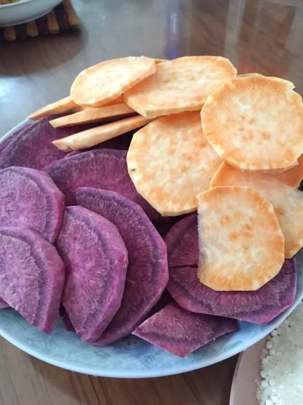 紫薯地瓜圆的做法大全