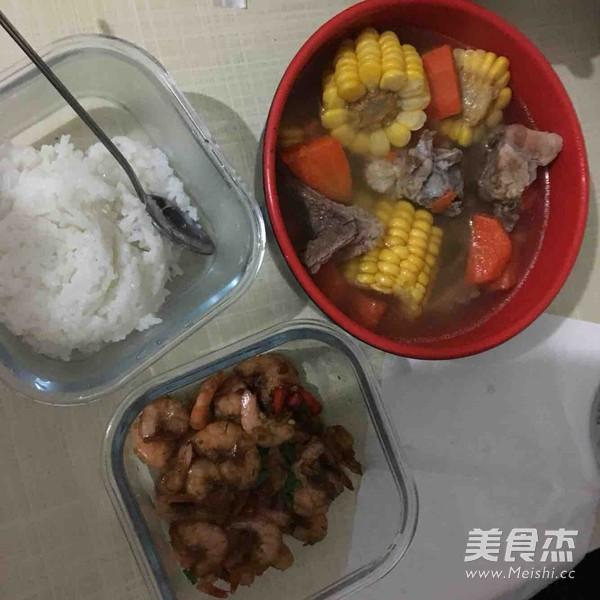 香辣基围虾的家常做法