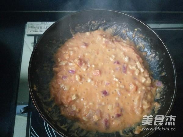 番茄肉酱意面(简单)怎么煸