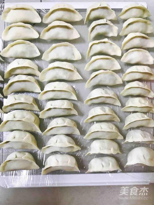 韭菜羊肉饺子怎么煮