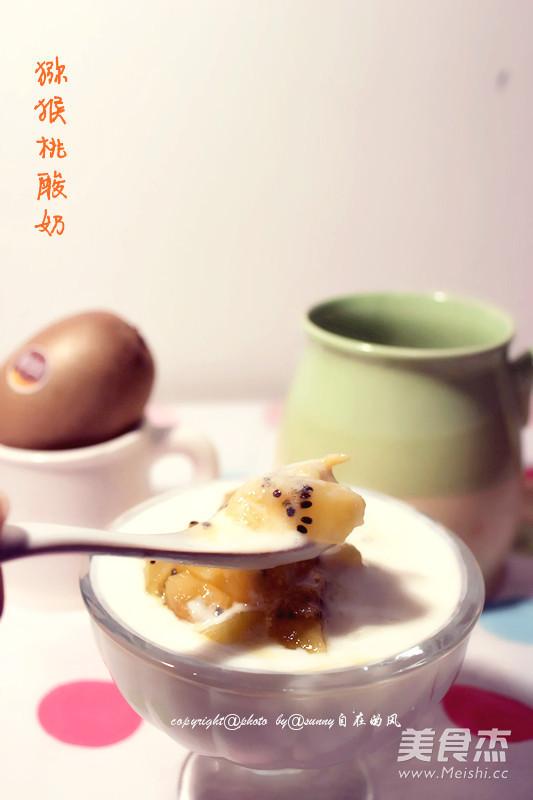 猕猴桃酸奶的家常做法