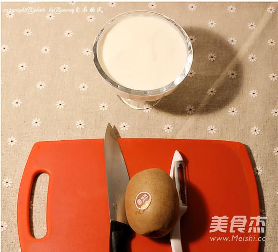 猕猴桃酸奶的做法大全