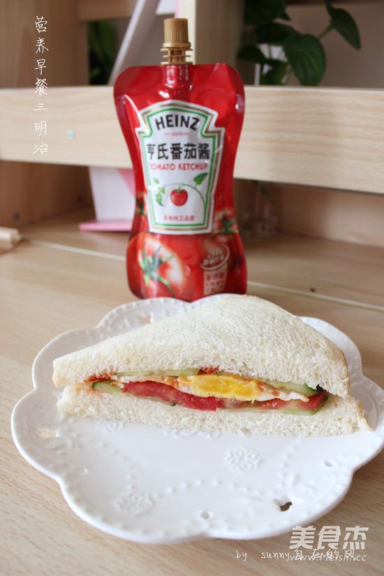 营养早餐三明治怎样做