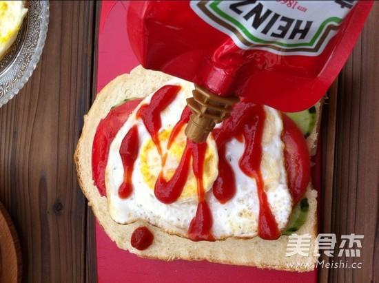 营养早餐三明治怎么做