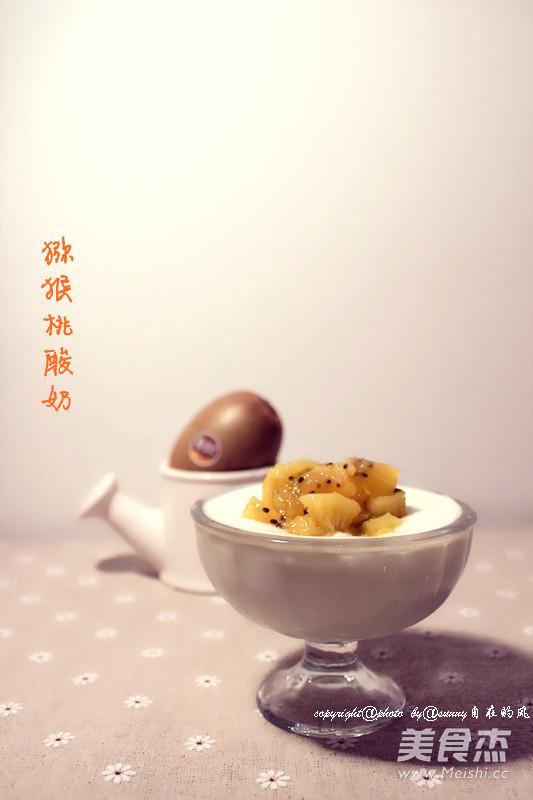 猕猴桃酸奶的简单做法