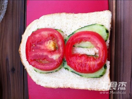 营养早餐三明治的简单做法